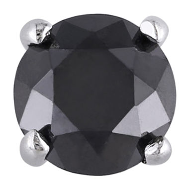 jcpenney.com | 3/8 CT. T.W. Color-Treated Black Diamond Single Stud Earring