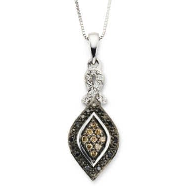 jcpenney.com | ⅛ CT. T.W. Champagne Diamond Pendant Necklace with Diamond Accents