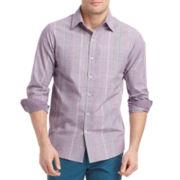 IZOD® Slim-Fit Plaid Shirt