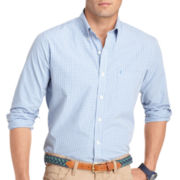 IZOD® Slim-Fit Gingham Shirt