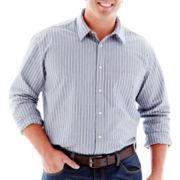 The Foundry Supply Co.™ Striped Poplin Shirt–Big & Tall