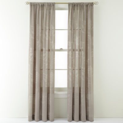 Royal Velvet® Pavolva Rod-Pocket Curtain Panel