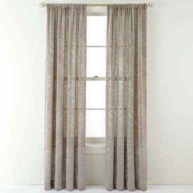 jcpenney.com | Royal Velvet® Pavolva Rod-Pocket Curtain Panel