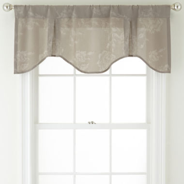 jcpenney.com | Royal Velvet® Pavolva Rod-Pocket Inverted Pleat Valance
