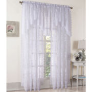 Lichtenberg Alison Rod-Pocket Sheer Lace Window Treatments