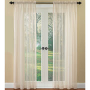 Waverly® Breeze Rod-Pocket Sheer Panel