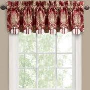 Waverly® Rose Momento Rod-Pocket Scalloped Valance