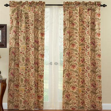 Waverly Imperial Dress Rod Pocket Curtain Panel