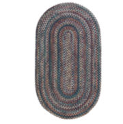 Pine Hill Reversible Braided Indoor/Outdoor Oval Rugs