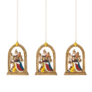 North Pole Trading Co. Set of 3 Three Kings Ornament