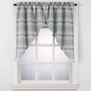 jcpenney.com | Dawson Rod-Pocket Swag Valance