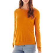 a.n.a® Long-Sleeve Essential Crewneck Sweater - Tall