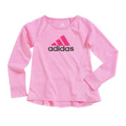 adidas® climalite® Long-Sleeve Tee - Preschool Girls 4-6x