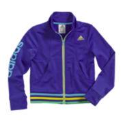 adidas® Full-Zip Jogger Jacket - Preschool Girls 4-6x