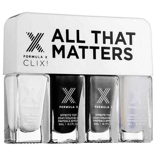 Formula X All That Matters