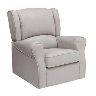 jcpenney.com | Delta Children's Products™ Morgan Upholstered Glider - Dove Gray