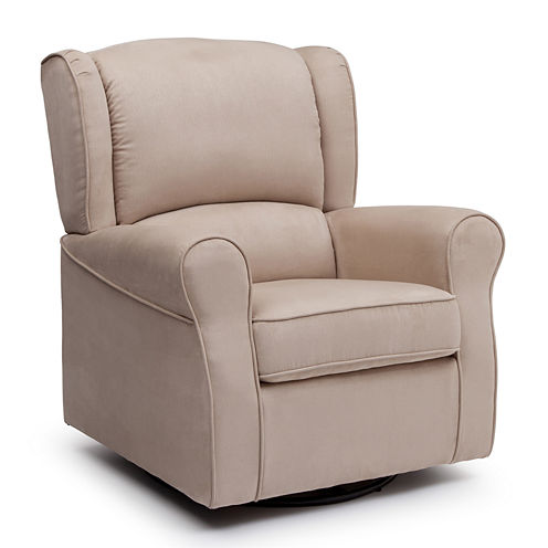 Delta Children's Products™ Morgan Upholstered Glider - Ecru