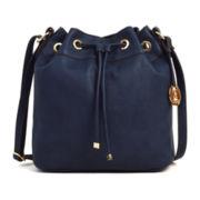 Liz Claiborne® Drawstring Bucket Bag