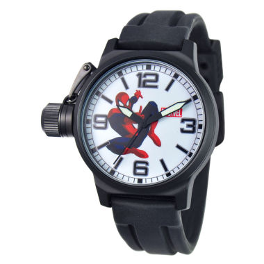 jcpenney.com | Marvel® Spider-Man Crown Protector Mens Watch