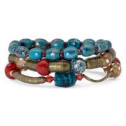 Aris by Treska® 3 Piece Stretch  Bracelet