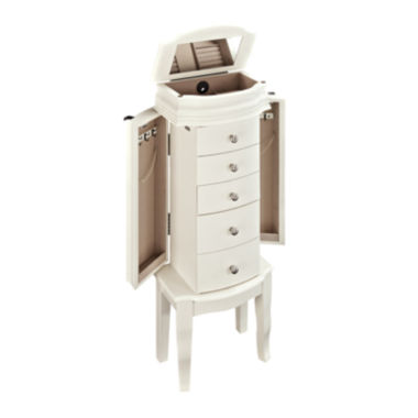 jcpenney.com | Antique White Jewelry Armoire