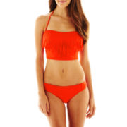 a.n.a® Fringe Midkini Swim Top or Hipster Bottoms