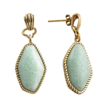 jcpenney.com | Art Smith by BARSE Blue Amazonite Drop Earrings