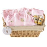 Burt's Bees Baby™ 10-pc. Welcome Home Basket - Blossom