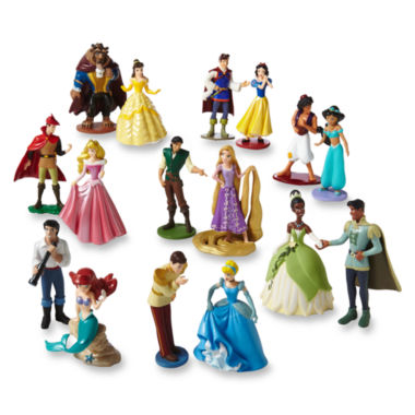 jcpenney.com | Disney Princess Deluxe 16-pc. Figure Set