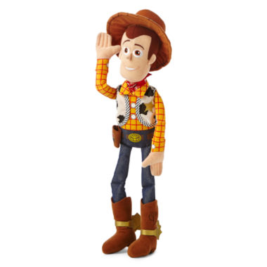 "jcpenney.com | Disney Collection Woody Medium 16"" Plush"