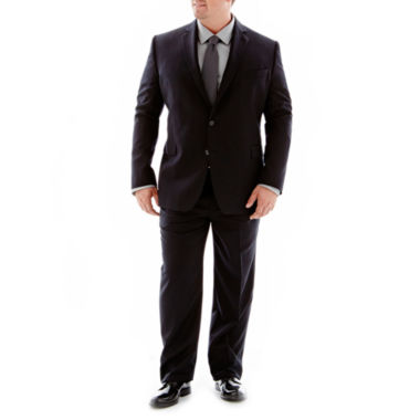 jcpenney.com | Stafford® Executive Super 100 Wool Suit Separates - Portly