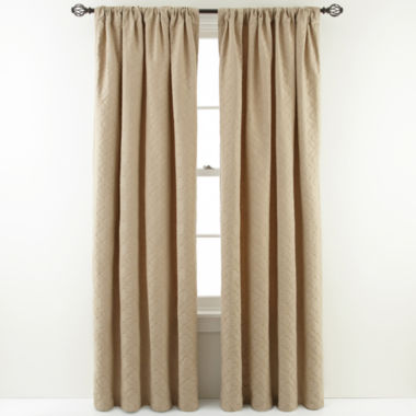 jcpenney.com | MarthaWindow™ Cloudscape Rod-Pocket Curtain Panel