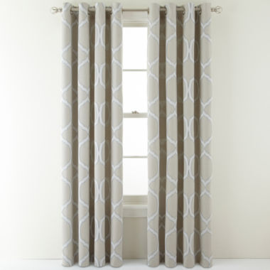 jcpenney.com | MarthaWindow™ Turning Point Grommet-Top Curtain Panel