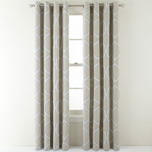 MarthaWindow™ Turning Point Grommet-Top Curtain Panel