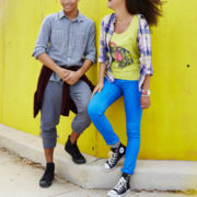 Arizona Plaid Shirt, Graphic Tee or Skinny Jeans