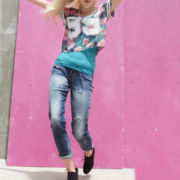 Decree® Football Tee, Lace-Trim Tank Top or Boyfriend Jeans