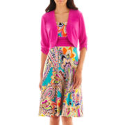 Perceptions Dress with Jacket - Petite