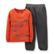 Carter's® 2-pc. Racecar Pajama Set - Boys 2t-5t