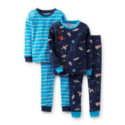 Carter's® 4-pc. Mix-and-Match Pajama Set – Boys 2t-5t