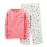 Carter's® 2-pc. Glitter Mouse Pajama Set – Girls 2t-5t