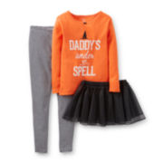 Carter's® 2-pc. Halloween Tutu Pajama Set – Girls 2t-5t