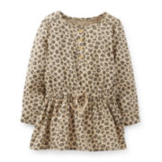 Carter's® Sateen Animal Print Tunic – Girls 2t-4t
