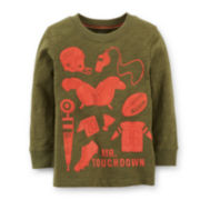 Carter's® Long-Sleeve Graphic Tee – Boys 2t-4t