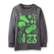 Carter's® Long Sleeve Graphic Tee – Boys 2t-4t