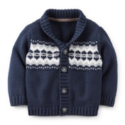 Carter's® Button-Front Cardigan – Boys newborn-24m