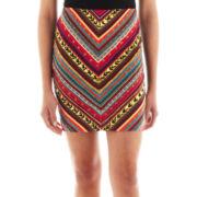 XOXO® Print Skirt