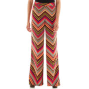 XOXO® Print Wide-Leg Pants
