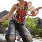 Spiderman Tank Top or Decree® Skinny Jeans