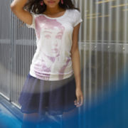 Audrey Hepburn Burnout Tee or Arizona Lace Skirt