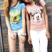 Minnie Mouse Burnout Tee or Arizona Skinny Jeans